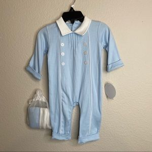 Edgehill Collection Baby Boy Coverall